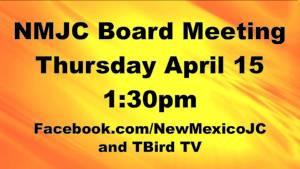 NMJC Board Meeting