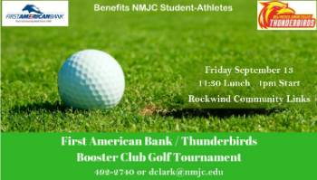 First American Bank/Boosters Club Golf Tournament