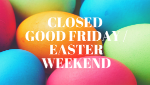 Good Friday - NMJC is Closed