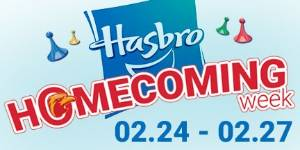 Homecoming Hasbro Game Week