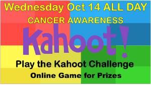 Kahoot Challenge on Cancer Awareness