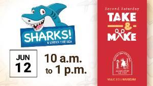 Second Saturday Take & Make - Sharks