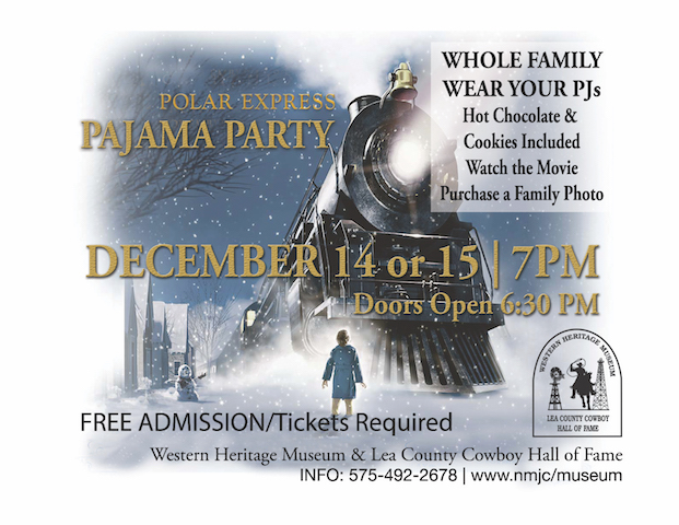 SOLD OUT - Polar Express Pajama Party