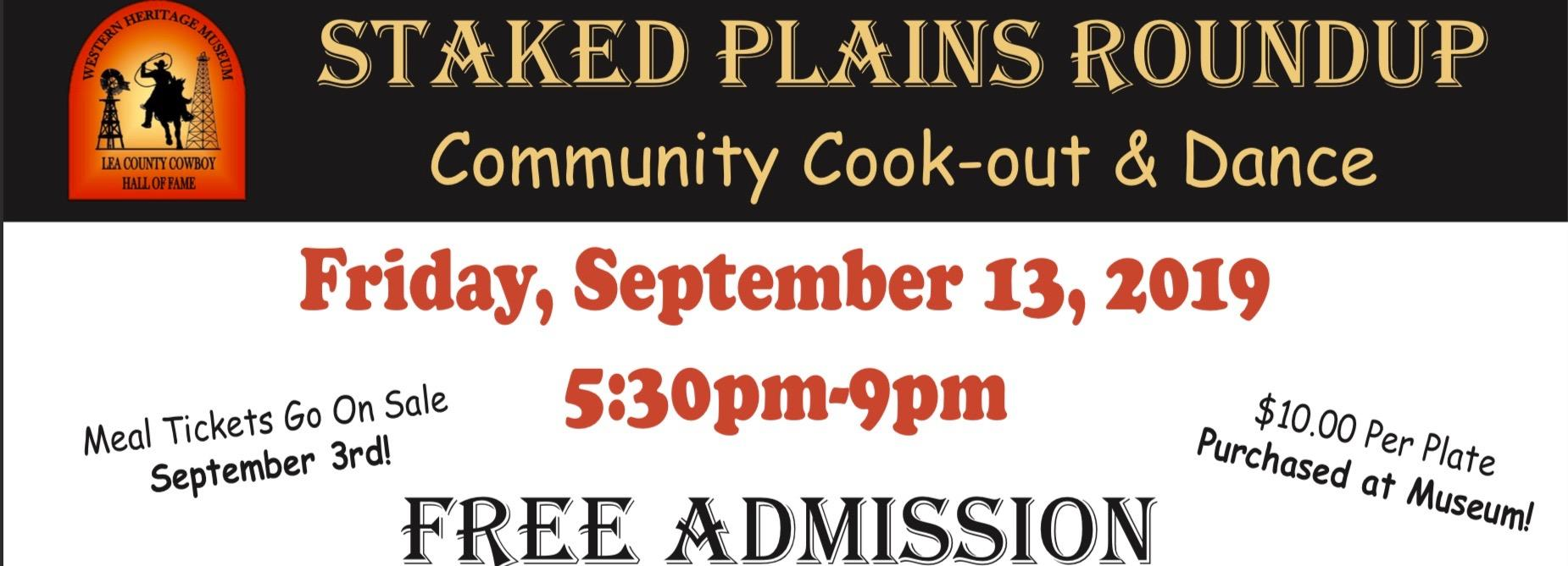 Staked Plains Roundup Community Event