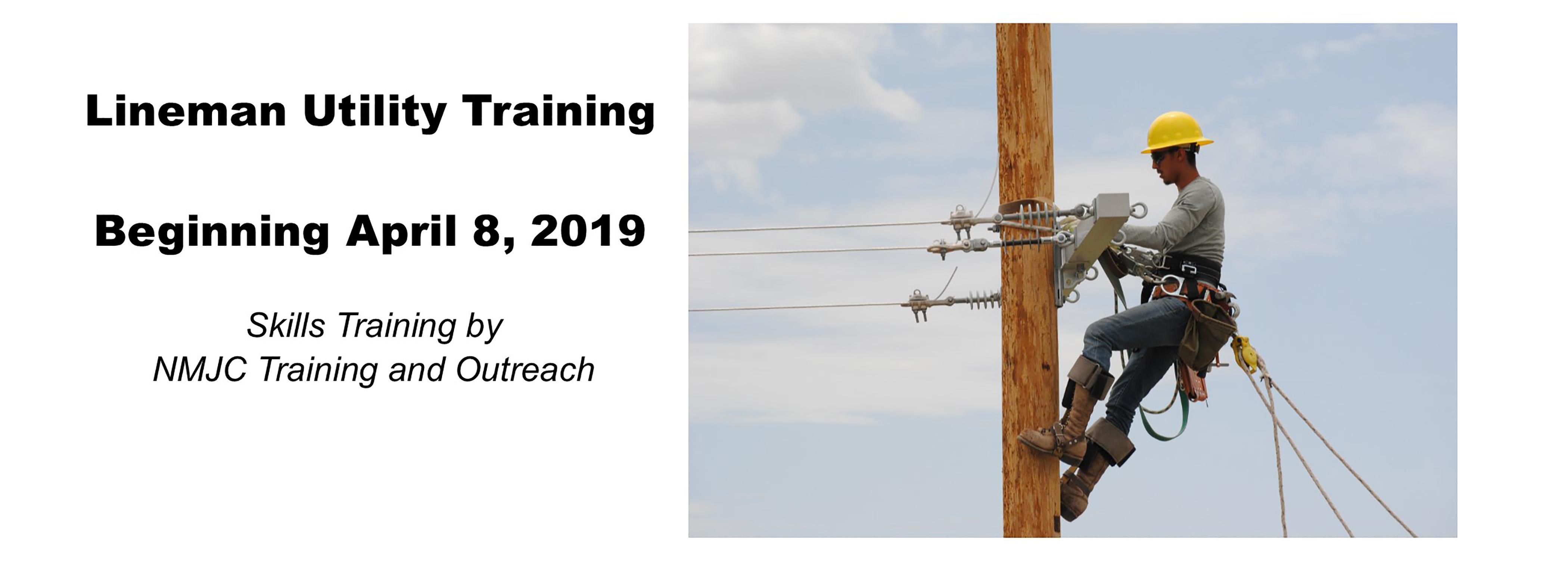 Lineman Utility Classes Start April 8