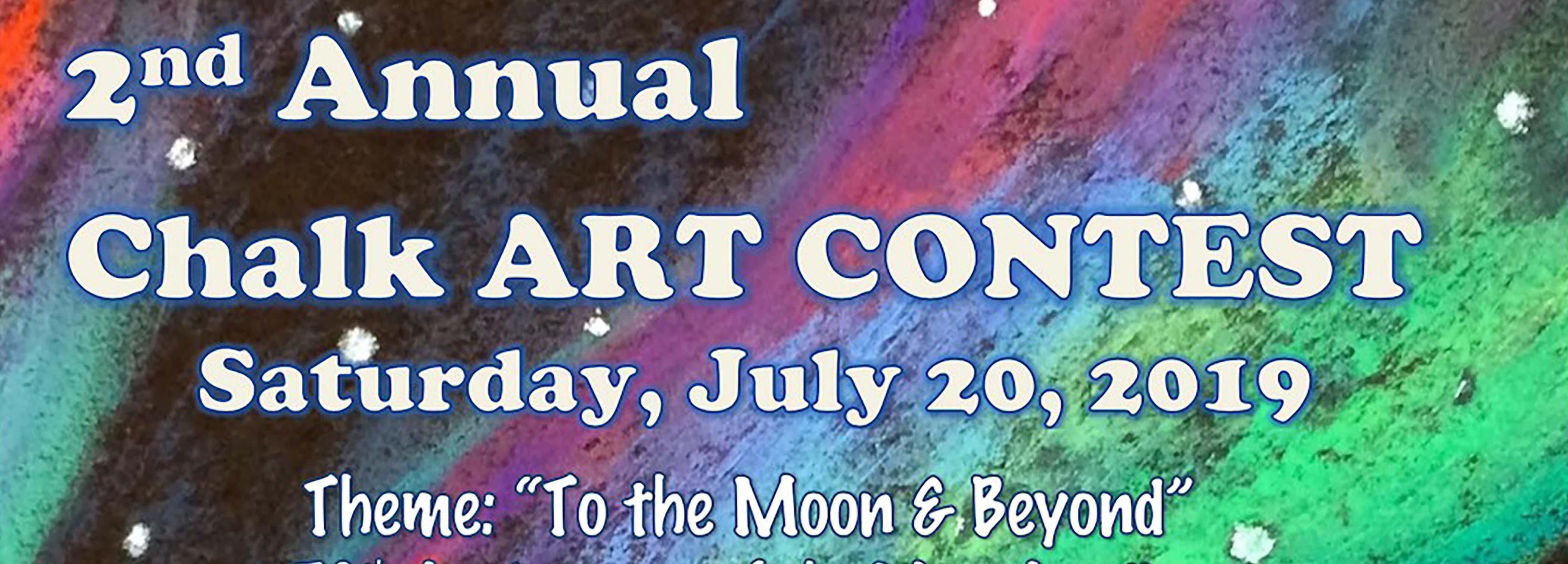 Chalk Art Contest July 20 at 8am