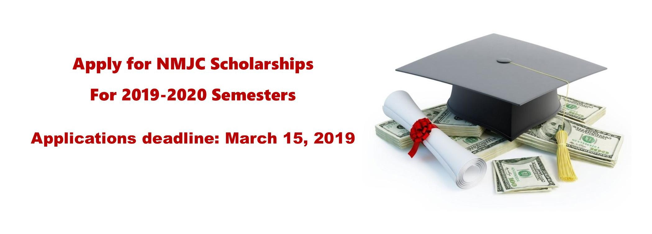 NMJC Scholarships are Available for 2019-2020