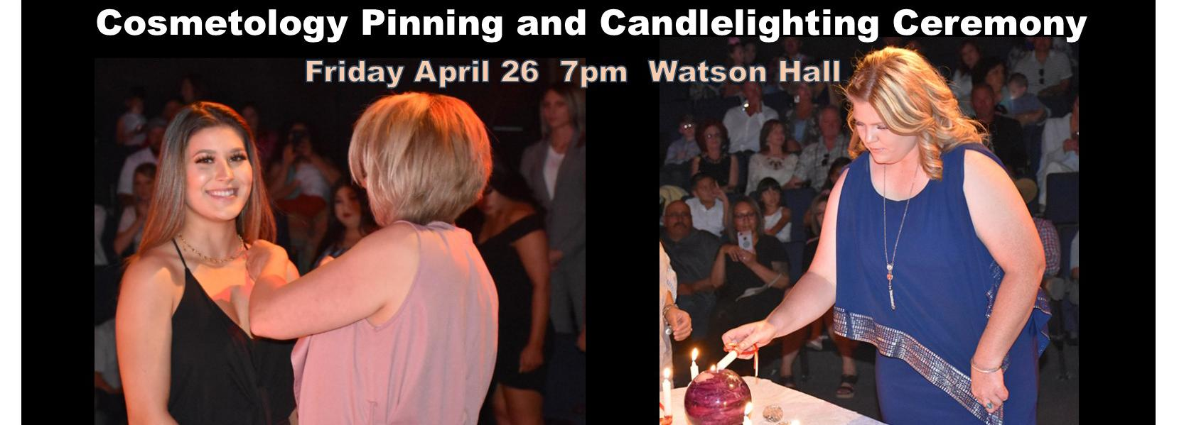 Cosmetology Pinning and Candlelighting Ceremony