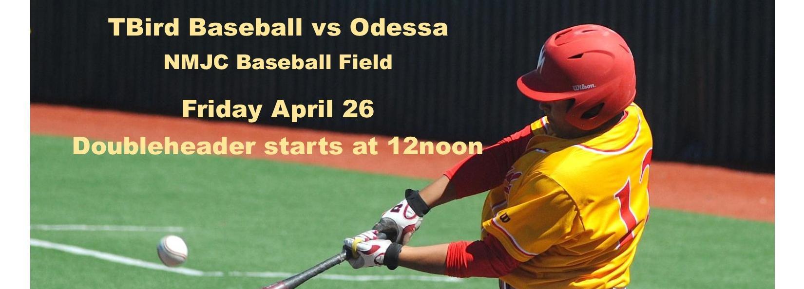 Watch the TBirds vs Odessa College