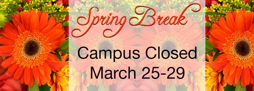 NMJC is Closed for Spring Break