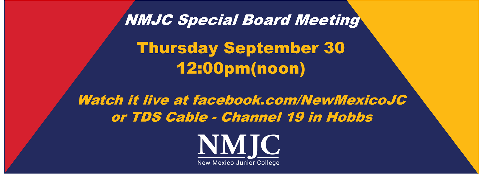Special Board Meeting 9.30.21