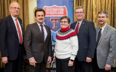 NMJC and Texas Tech Pres and VPs